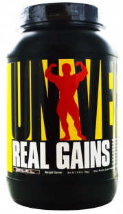 Гейнер Universal Nutrition Real Gains (1800 г)